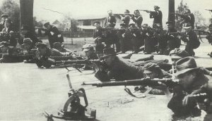 Polish insurgents shoot