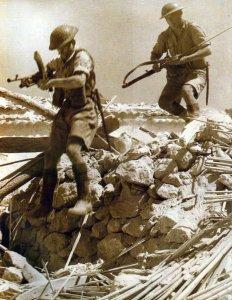 British infantry on Sicily