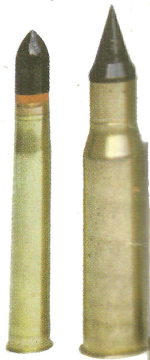 Penetration Tank Ammunition > WW2 Weapons