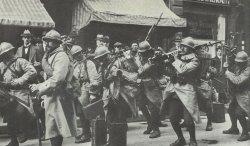 French troops in Frankfurt (Main)