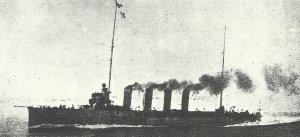 austro-hungarian light cruiser 'Saida'
