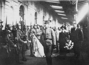 Ex-Emperor Karl restoration attempt in Hungary