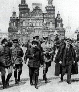 'Lenin', in Red Square