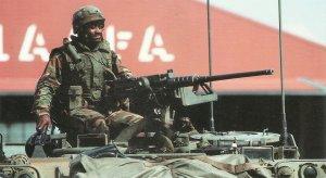 0.5in M2 machine gun today