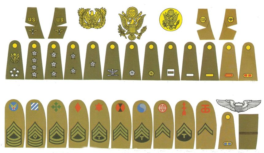 US Army and Air Force Insignia