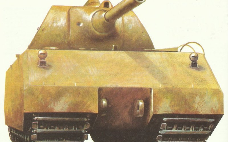 Maus super-heavy tank