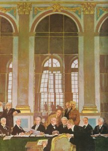Treaty of Versailles signing