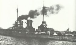 Interned German warships in Scapa Flow