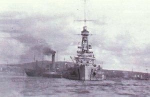 German battleship 'Baden' at Scapa Flow