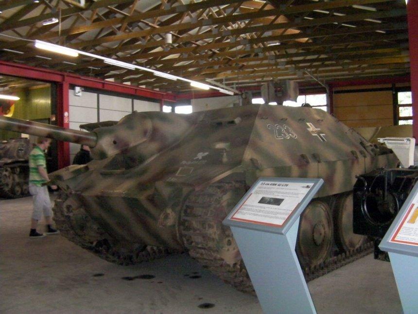 Hetzer tank museum Munster