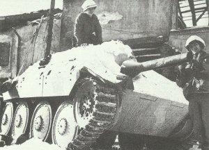 flame tank Hetzer 38(t)