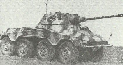 Heavy armored car Puma