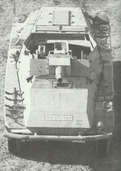 Heavy armored car (7,5cm) SdKfz 234/3