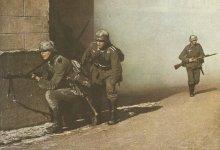 German infantry 1940 in street combat