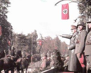 Hitler victory parade warsaw