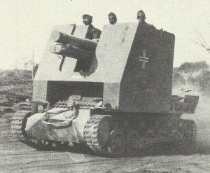 15cm sIG33 self-propelled gun