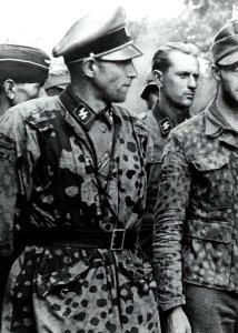Waffen-SS prisoners in Normandy