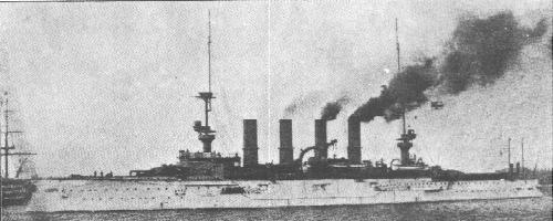Armored cruiser Scharnhorst