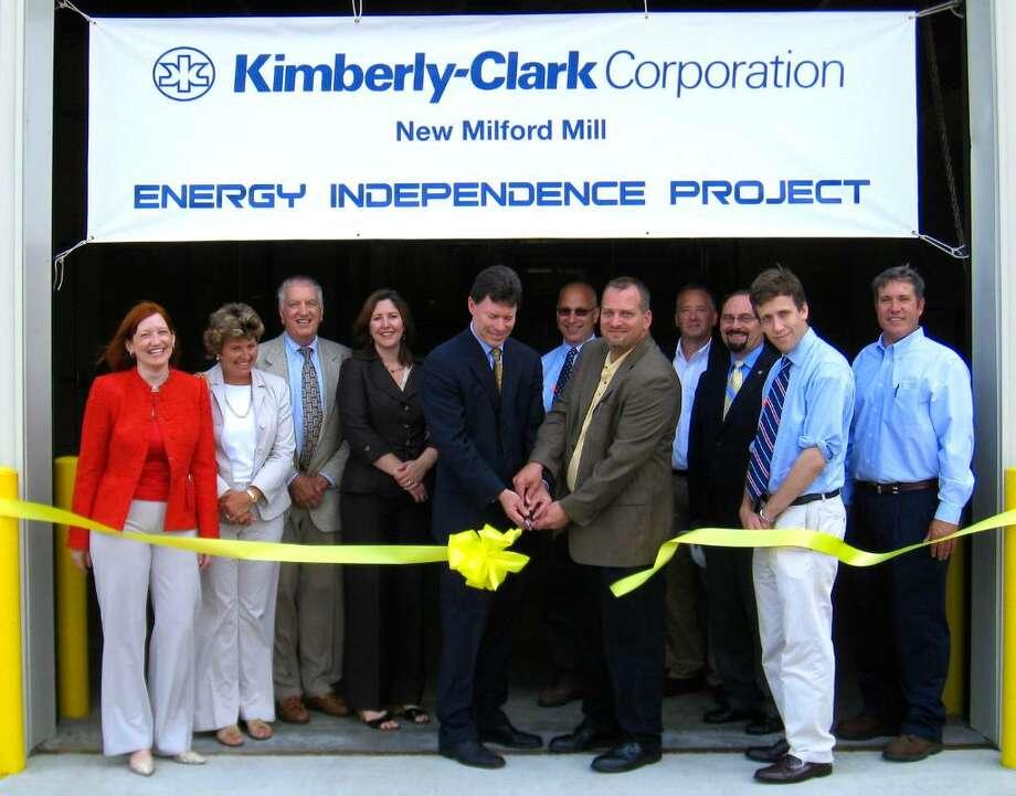 Ribbon Cutting At Kimberly Clark Celebrates A Commitment