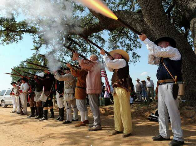 Billy Calzada photo, 2011 Reenactment of the Battle of Medina (in Texas)
