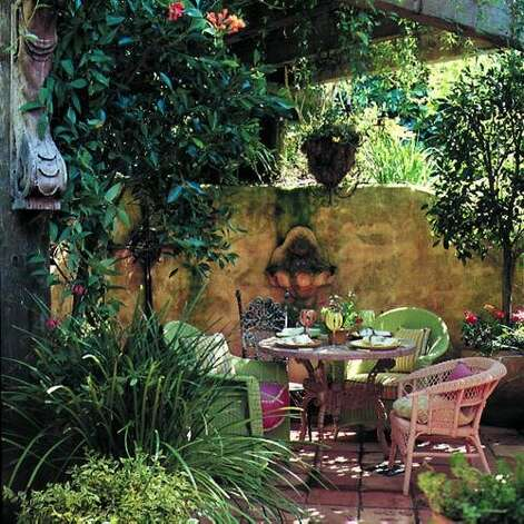 Ideas for Outdoor Dining - SFGate on Uphill Backyard Ideas  id=67157