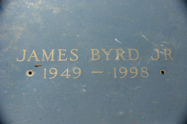 James Byrd'd grave in Jasper Texas. Guiseppe Barranco/The Enterprise Photo: Guiseppe Barranco