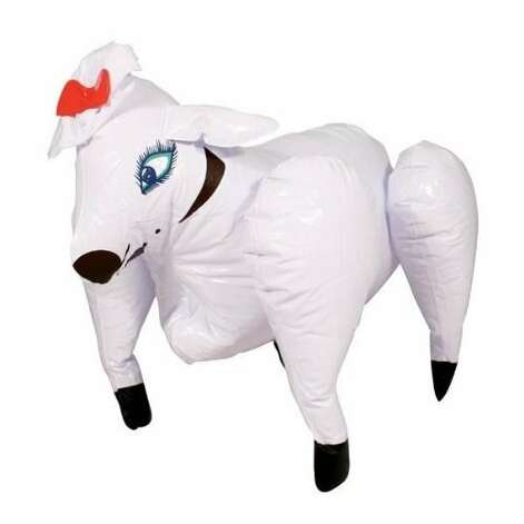 DOLLY THE SEXY INFLATABLE SHEEP: Please tell me this is a gag gift. Please... (View on Amazon.) / SL