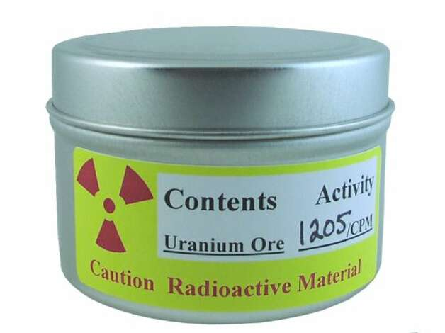 URANIUM ORE: For $50, you get a sample of radioactive uranium ore. Not only is this one of the strangest things on Amazon, it also has the strangest buyer comments. (View on Amazon.) / SL
