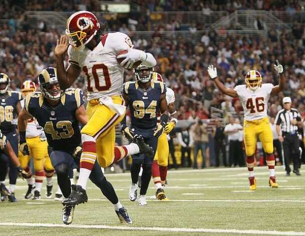 Rams get best of Griffin in home opener - SFGate