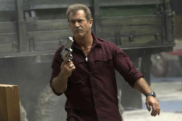 Why he killed all those folks: Mel Gibson conveys some emotional complexity. Photo: Phil Bray, Associated Press