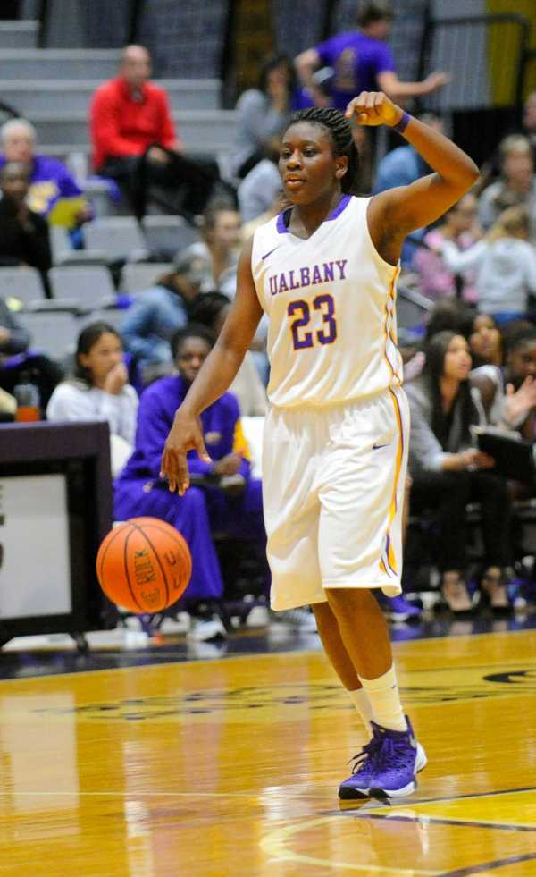 UAlbany women win to advance in hoops tourney - Times Union