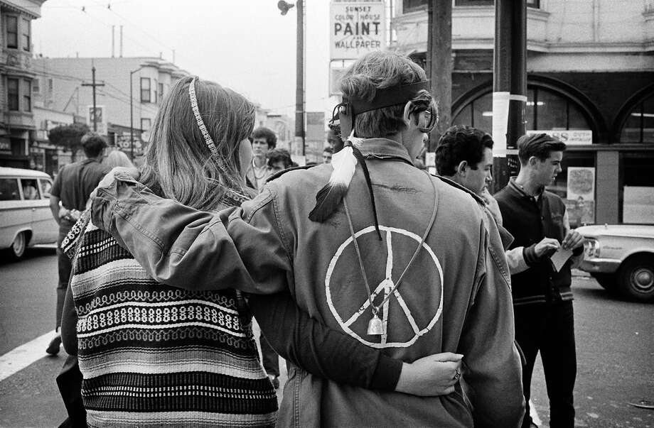 The corner of Masonic and Haight streets in 1967. Photo: © Jim Marshall Photography LLC