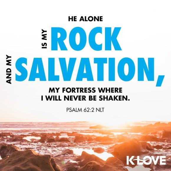 Psalm 62:2 NLT