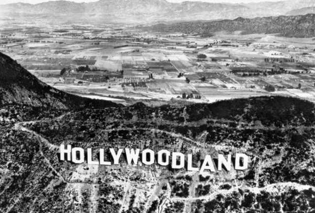The History of the Hollywood Sign, From Public Nuisance to Symbol of  Stardom | KQED