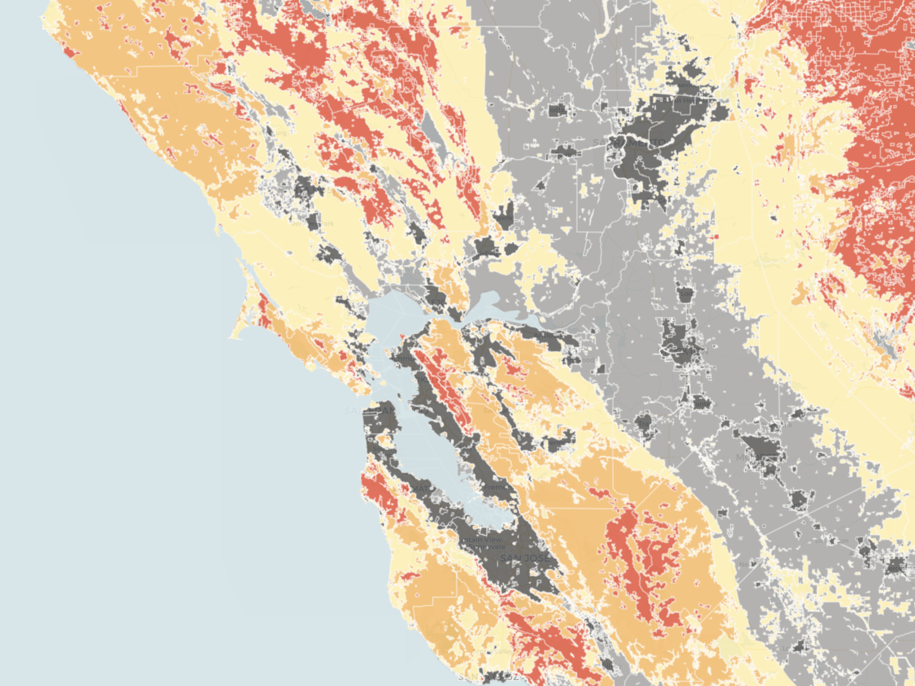 It might leave you wondering when is wildfire season in california? Map Do You Live In A High Risk Fire Zone Kqed