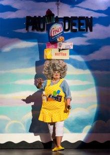 Paula Deen costume; photo by Rick Markovich