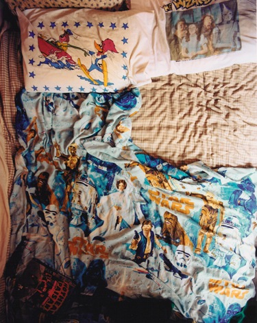 Tammy Rae Carland. <i>Untitled (Lesbian Bed #6)</i>, 2002. Courtesy of the artist and Jessica Silverman Gallery.