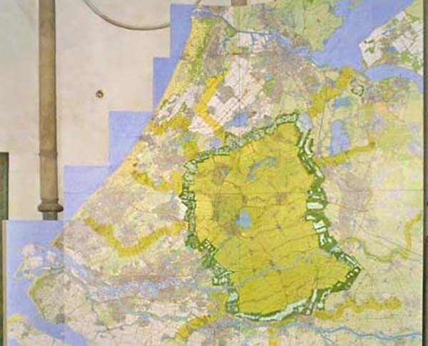 To get their message across to the Dutch authorities, the Harrisons audaciously created and exhibited a map of Holland --printed backwards