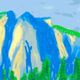 David Hockney Captures Yosemite with iPad Art