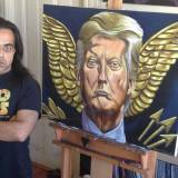 Pro-Trump Artist Jon Proby Takes a Stand in Oakland