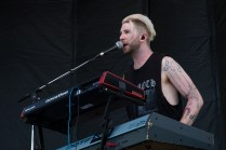 Aaron Rothe of 888 performs at BottleRock in Napa, May 27, 2017.
