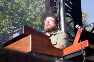 Joe Lester of Silversun Pickups performs at BottleRock in Napa, May 26, 2017.