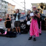 Meet Brass Liberation Orchestra, a Radical Brass Band Drumming Up Energy At Protests