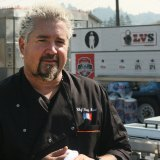 Guy Fieri Brings Barbecue Smoker to Santa Rosa Fire Evacuation Center