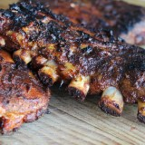 Fall-Off-The-Bone BBQ Baby Back Ribs with Homemade Barbecue Sauce