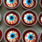 Halloween Treats (adults only): Eyeball Jell-O Shots