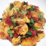 Healthy Comfort Food:  Vegan Cauliflower and Potato Curry