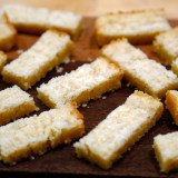 Christmas Cookies: Lemony Shortbread