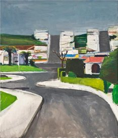 "Richard Diebenkorn, ""Ingleside,"" 1963; oil on canvas, Grand Rapids Art Musem."