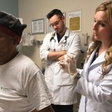 One Hospital's Alternatives to Opioids: Ultrasound, Laughing Gas and a Harpist